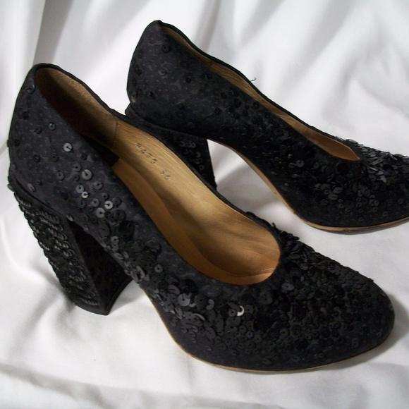 9365fba5ba4e66 Vintage Dries Van Noten Sequin Shoes