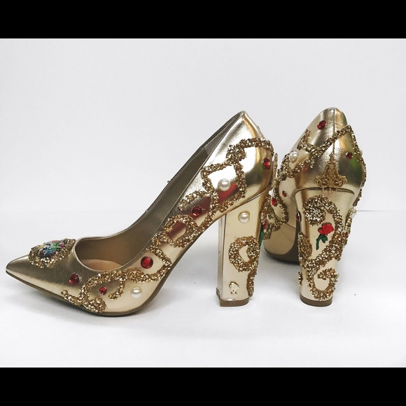 225ab03a6c4 Custom Beauty And The Beast Shoes Boutique