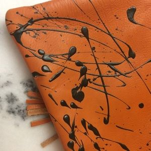 Handbags - NEW Italian leather purse & coin purse from Rome