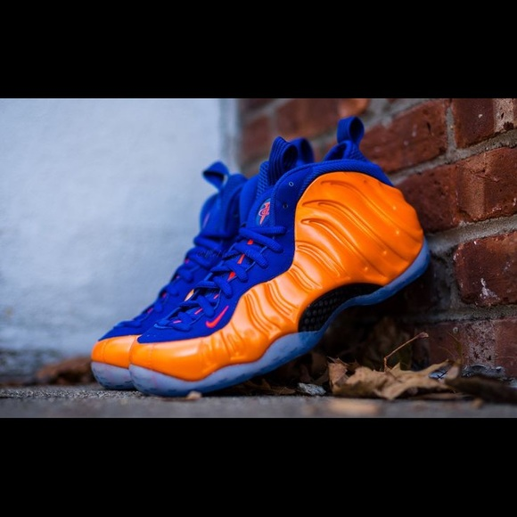 the latest 122a0 e6d1f ONE DAY SALE 💯Knicks Foamposites 7Y