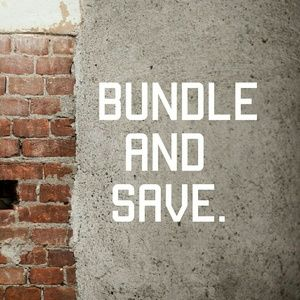 Bundle 3 or more items and save 15 percent
