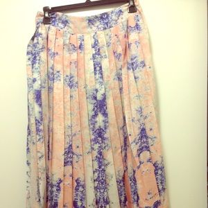 W118 by Walter Baker floral midi skirt