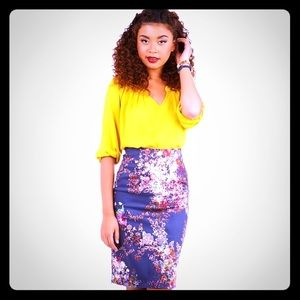 🆕 Modcloth Brilliant Blogger Skirt