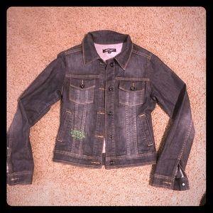 Ed Hardy Jean jacket with Skull