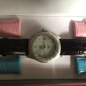 ESQ SWISS watch with changeable straps