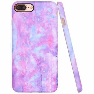 iPhone Purple Marble Case