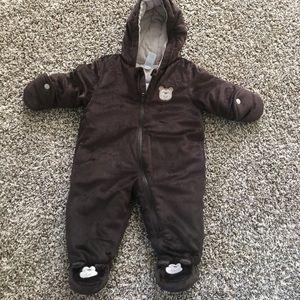 New baby winter suit