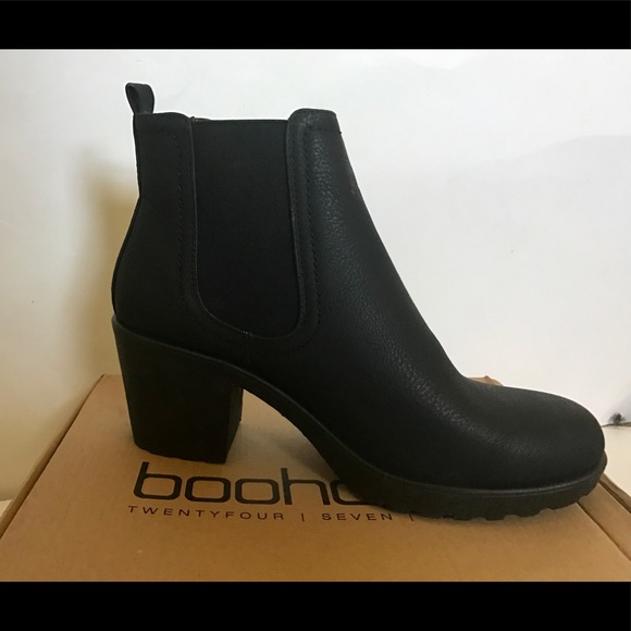 d50efe41ad4 Boohoo Shoes - Boohoo Matilda Block Heel Chelsea Boot