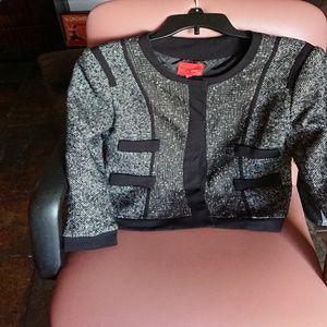 Narciso Rodriguez M Design Nation black jacket
