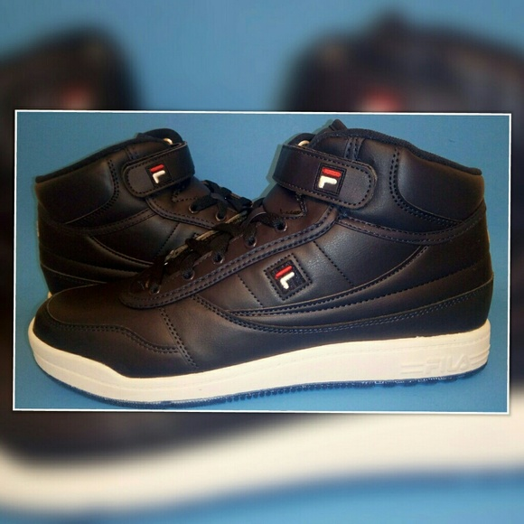 988c8fcd911a Fila Other - Fila Mens (BBN 84 ICE) Blue White Hightop Sneakers