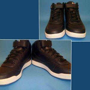 d8eae94f1ac2 Fila Shoes - Fila Mens (BBN 84 ICE) Blue White Hightop Sneakers