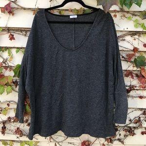 Tobi grey half sleeved top