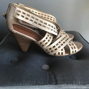 Matisse Strappy Wedge
