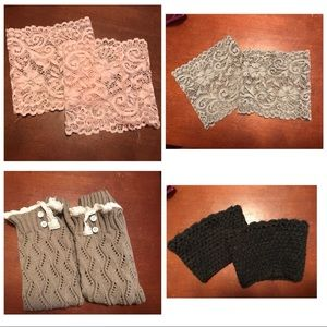 Accessories - 4 pairs of boot cuffs