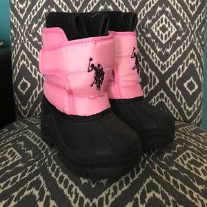 TODDLER Polo Rain/Snow boots