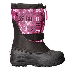 Toddler powderbug plus II print snow boot