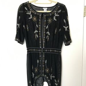 Gorgeous Beaded Coverup