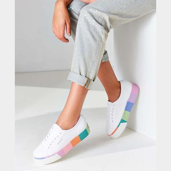 Nwt Superga Pastel Platform Sneaker