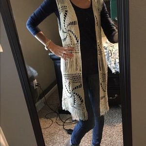 Sweaters - Just in time for fall!!! Crochet vest