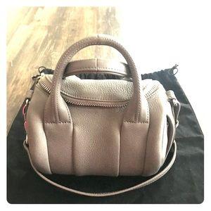 Alexander Wang Rockie pebbled leather satchel