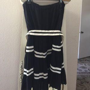 Elle strapless dress