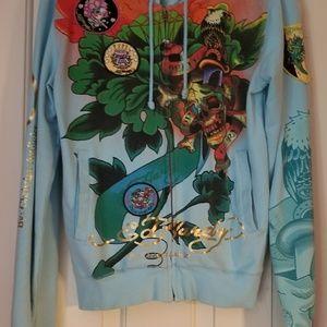 Ed Hardy zipper hoodie