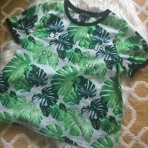 forever 21+ palm tee size XL
