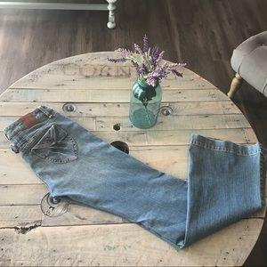 SALE 🎉🎉🎉BCBGeneration Flare jeans Sz 30x34