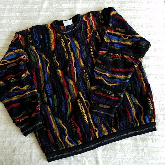 dc360e5c9d4 86)Coogi Australia multicolor sweater