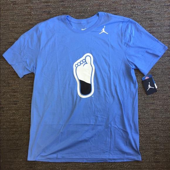 d994920cb24b Nike Air Jordan UNC Tar Heels Men s T-Shirt