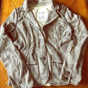 Soft warm blazer
