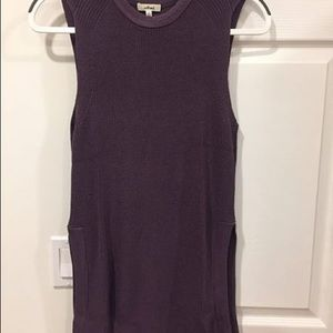 Trendy Wilfred purple top
