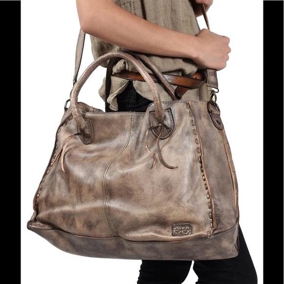 58986c2128 Bed Stu Rockaway Taupe Driftwood Bag