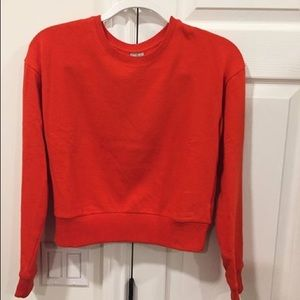Asos Sweaters - Asos red crop top sweater