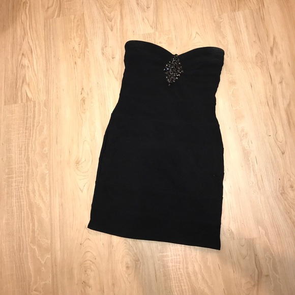 62c7ba8f9266 Dresses | Black Bondage Mini Dress Size Small | Poshmark