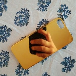 J.Crew Gold iPhone 5 Case