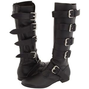 Vivienne Westwood Pirate Boot Buttero Black 37/6.5