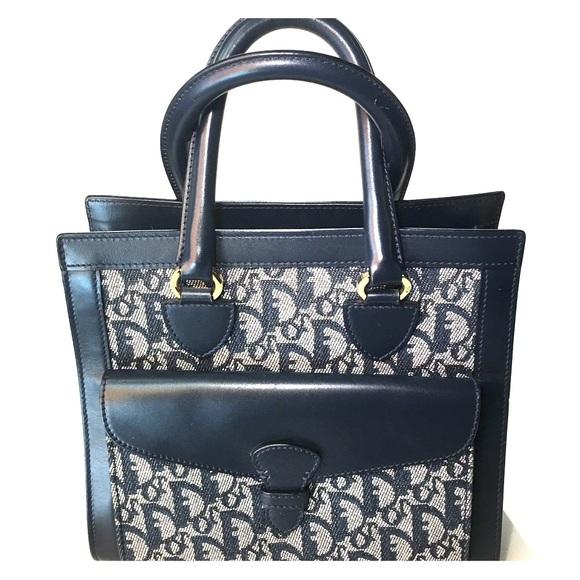 "ada6db0d600d Christian Dior Handbags - Vintage Christian Dior ""trotter"" tote"