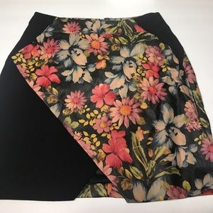 Floral right skirt