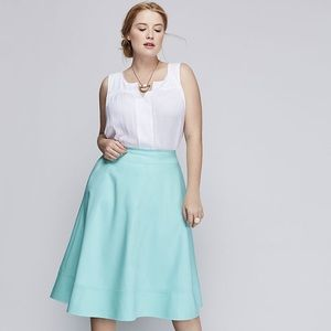 NWT mint lane bryant a-line skirt size 16