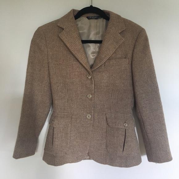7bf14c57ea56 Polo by Ralph Lauren Jackets & Coats | Vintage 100 Wool Blazer ...