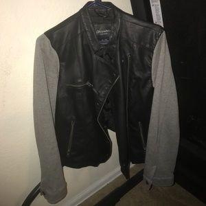 XL Faux Leather Jacket