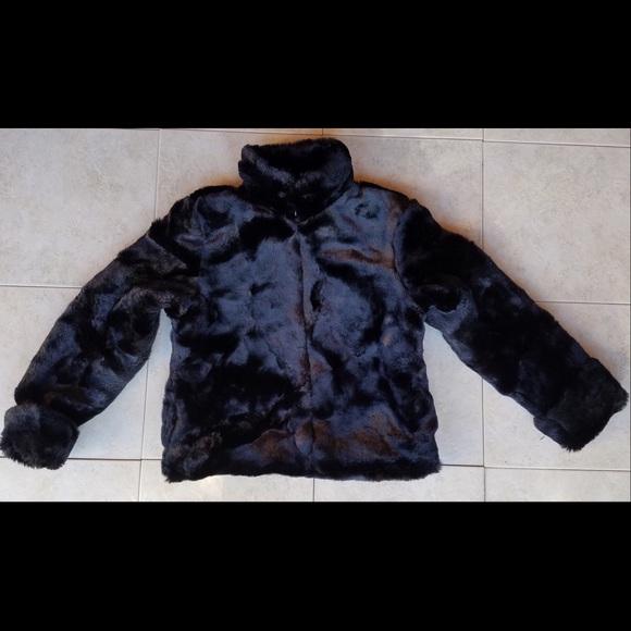 c8aebc5ca GAP Jackets & Coats | Kids Black Faux Fur Coat | Poshmark