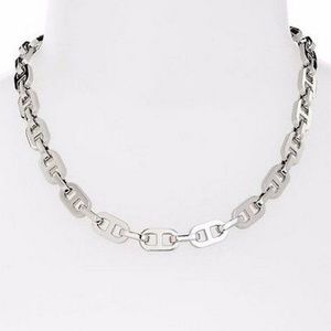 Michael Kors MKJ1931 Silver-Tone Necklace
