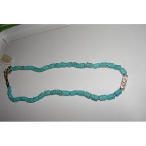Michael Kors MKJ2734710  Bead Turquoise Necklace