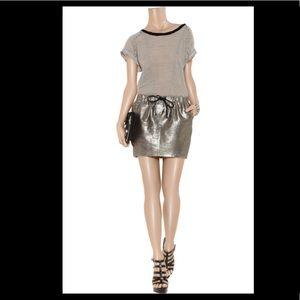 Elizabeth & James Crawford Metallic Skirt