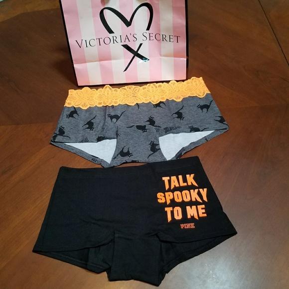 bade58a144c PINK Victoria s Secret Halloween Panties M NWT