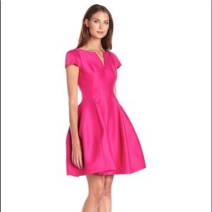 HALSTON HERITAGE Structured Faille Dress Sz 10 NWT