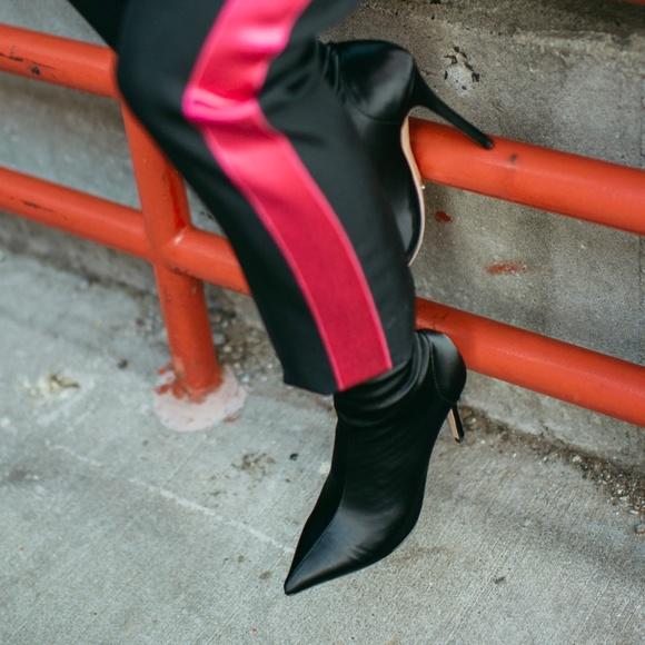 Tony Bianco DAVIS Satin Boots (BLK)