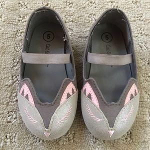 Cat & Jack bunny shoes - size 5